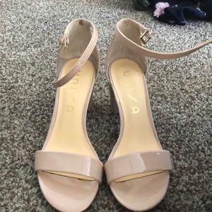 Sparkly pink heels